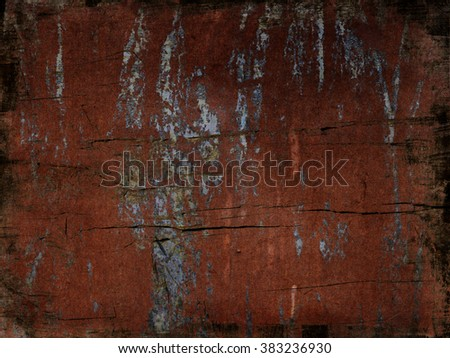 Aged steel background