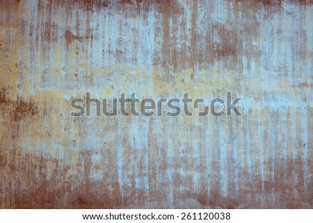 Aged vintage gray cement wall texture background - stock photo
