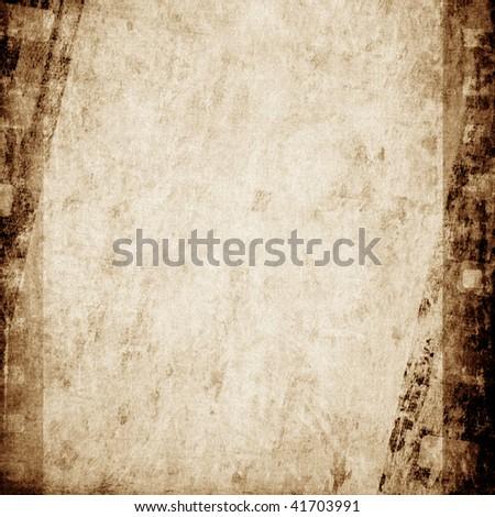 Aged wallpaper - stock photo