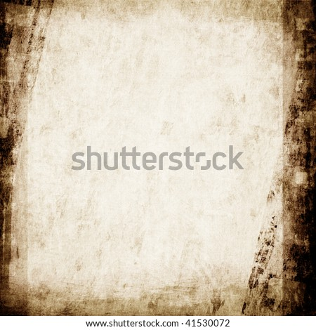 Aged wallpaper with film strip texture - stock photo