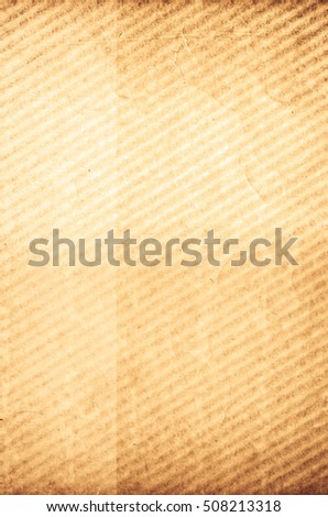 aged yellow toned corrugated wavy surface  - textured copy space