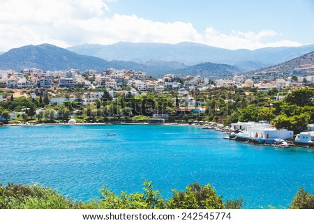 Agios Nikolaos, Crete, Greece - stock photo