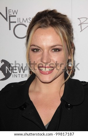 "Agnes Bruckner  at the ""Burning Palms"" Los Angeles Premiere, ArcLight Cinemas, Hollywood, CA. 01-12-11"