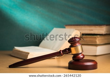 Agreement, and, authority. - stock photo