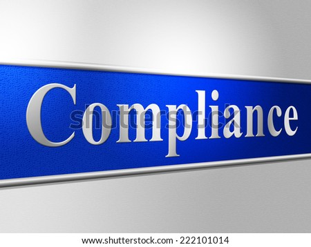 Agreement Compliance Representing Laws Obedient And Conform