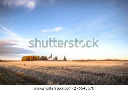 agricultural field, nature and agriculture farming series - stock photo