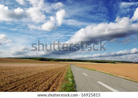 agricultural road