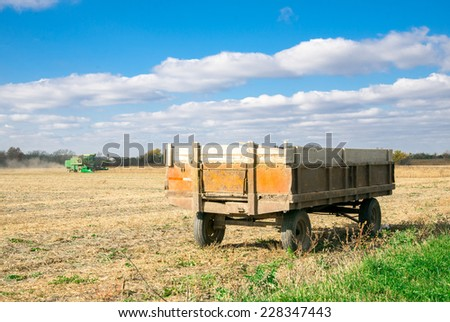 Agriculture Background. Farming