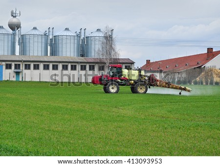 Agriculture farm technology farming business
