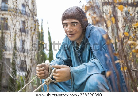 agriculture peasant farm cultivate - stock photo