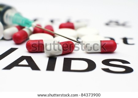 Aids - stock photo