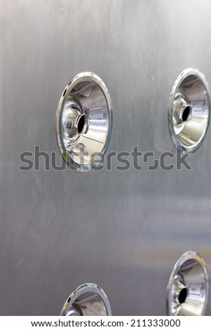 Air blower for clean room - stock photo