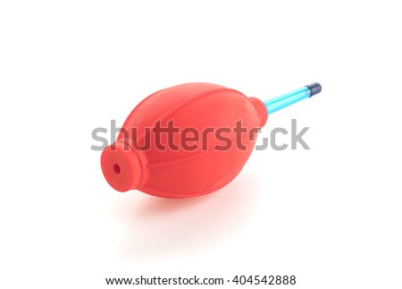 Air Blower on white background