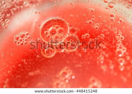 Air bubble - stock photo