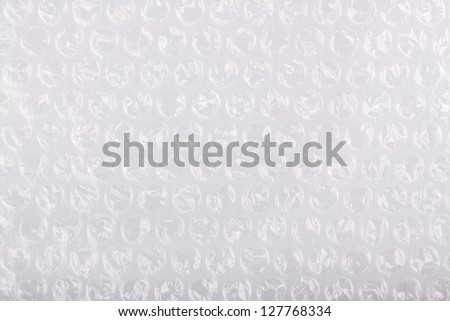 Air bubble material background - stock photo