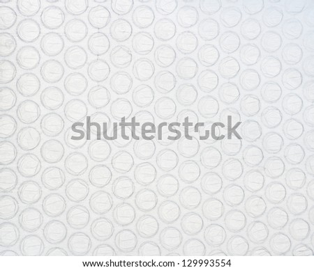 Air bubble material background. Artificial material - stock photo
