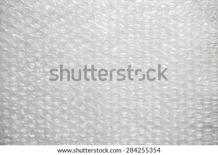 Air Bubble texture,Bubble wrap made from plastic - stock photo