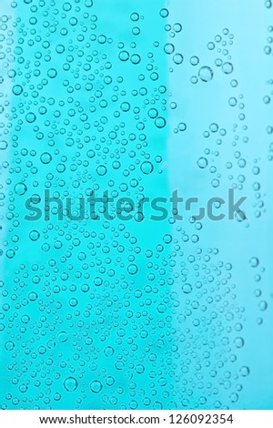 air bubbles as background in the photo