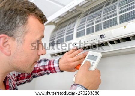 Air con - stock photo