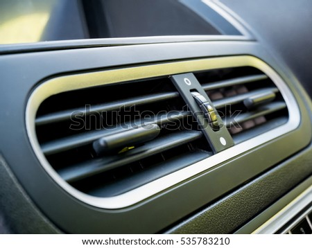 Air conditioner in modern car