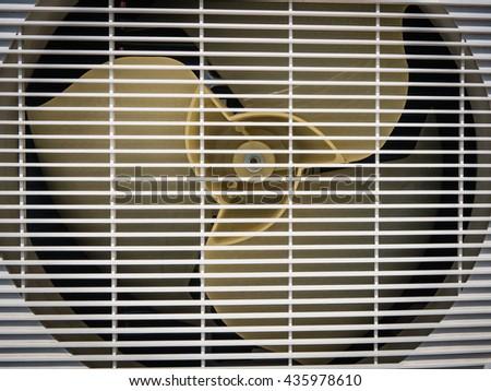 air conditioner machine - stock photo