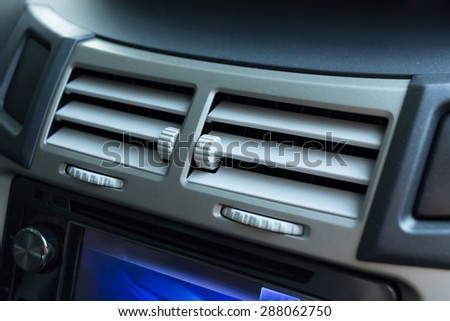 air conditioning in car