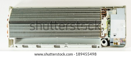 air conditioning service - stock photo