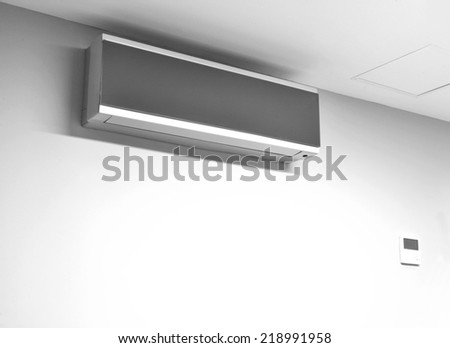 Air conditioning system. - stock photo