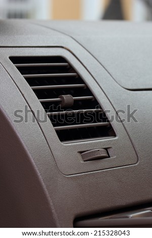 Air-Conditioning vents close