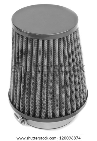 air cone filter of zero resistance - stock photo