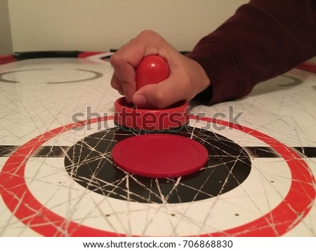 Air Hockey Table Stock Images Royalty Free Images
