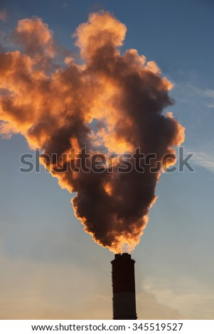 air pollution by not renewable power engineering