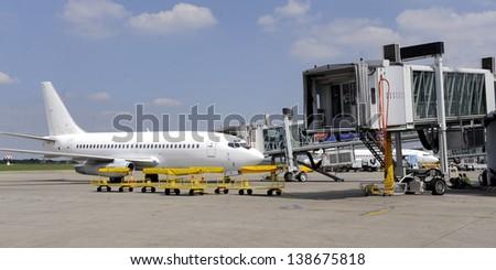 air transport - stock photo