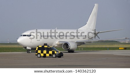 air transportation - stock photo