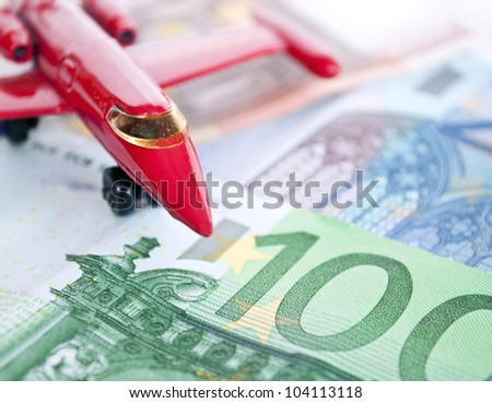 Air transportation concept - stock photo