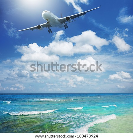 Air travel concept - stock photo