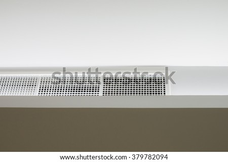 air ventilation on ceiling