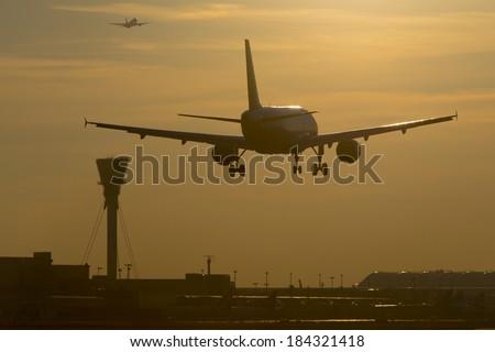 Aircraft Photo - stock photo