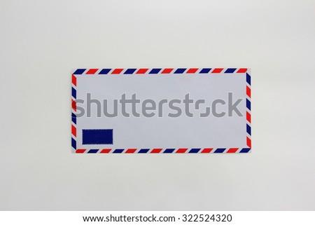 Airmail - stock photo