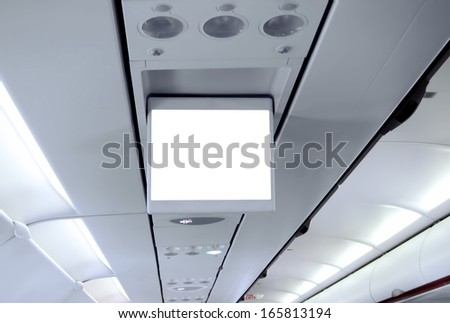 Airplane Display Screen