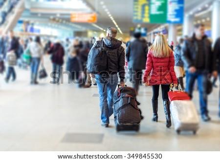 Airport. - stock photo