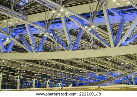 Airport Ceiling - stock photo