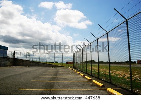 Airport Parking - stock photo