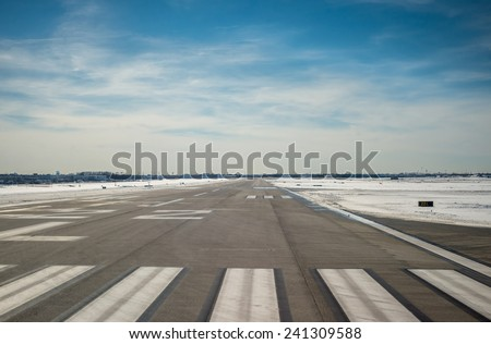 Airport Runway. Travel and Aviation abstract instagram processing