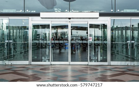 Automatic Sliding Doors Stock Images RoyaltyFree Images