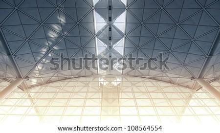 Airport Vault - stock photo