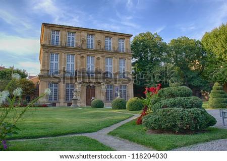 Aix-en-Provence - Pavillion Vendome - stock photo