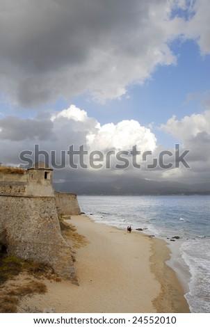 Ajaccio, Corsica, France - stock photo