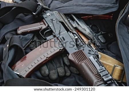 ak-47 - stock photo