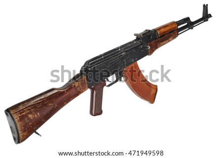 AK - 47 (AKM) assault rifle